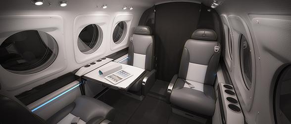 King Air - Interiors