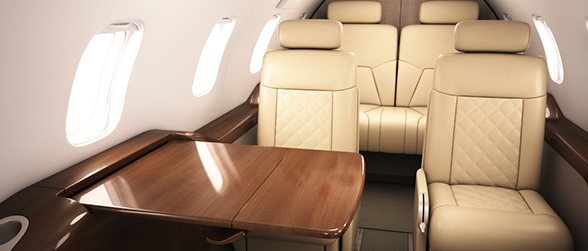 Learjet - Interiors